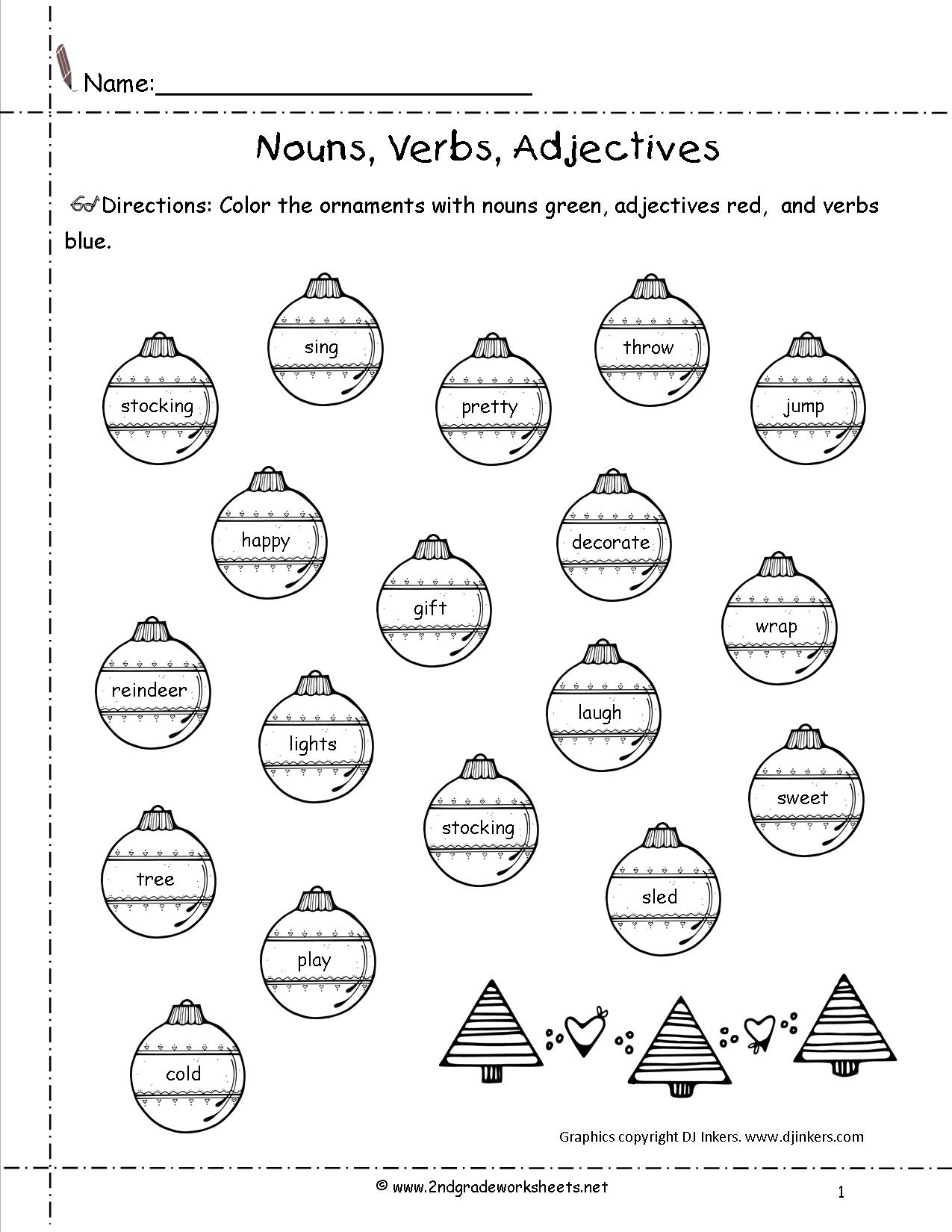 Christmas Worksheets And Printouts | Christmas Worksheets Printables