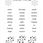 Christmas Worksheets And Printouts | Christmas Writing Worksheets Printables