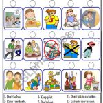 Classroom Rules   Esl Worksheetbolflayke   Free Printable Classroom | Free Printable Classroom Rules Worksheets