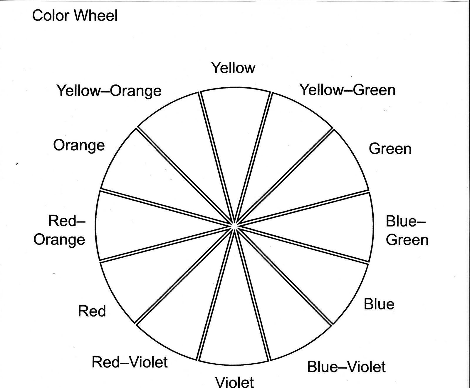 Color Wheel Worksheet Printable | Life Skills In 2019 | Color Wheel | Printable Color Wheel Worksheet
