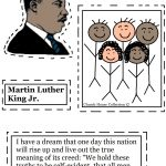 Coloring Pages ~ Free Printable Coloringes Of Martin Luther King Jr | Free Printable Martin Luther King Worksheets For Kindergarten