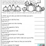 Consonant Blends Mystery Words! Read The Clues And Write The Correct   Free Printable Consonant Blends Worksheets