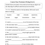 Context Clues Worksheet Writing Part 6 Intermediate | Great English | Context Clues Printable Worksheets 6Th Grade