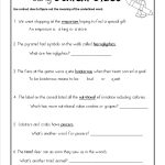 Context Clues Worksheets 5Th Grade To Download   Math Worksheet For | Free Printable Context Clues Worksheets