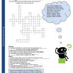 Crosswords Crossword Puzzle Worksheets For Middle School Biology Fun | Free Printable Biology Worksheets For High School