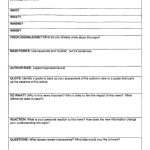 Current Event Outline | Ideas | High School Health, Current Events | Current Events Printable Worksheet