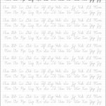 Cursive Handwriting Template   Koran.sticken.co | Printable Cursive Worksheets