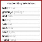 Cursive Handwriting Worksheets – Free Printable! ⋆ Mama Geek   Free | Printable Handwriting Worksheets