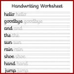 Cursive Handwriting Worksheets – Free Printable! ⋆ Mama Geek   Free | Printable Penmanship Worksheets