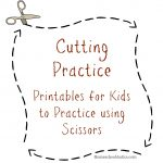 Cutting Practice Printables | Printable Cutting Worksheets For Preschoolers