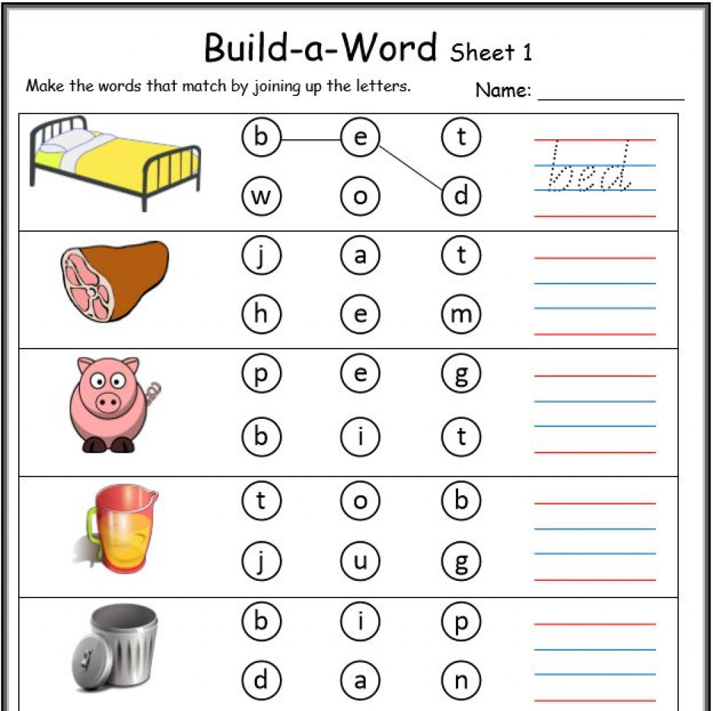 Cvc Worksheets Printable Work Sheets • Keepkidsreading With Regard | Cvc Worksheet Printable