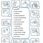 Daily Routine Worksheet   Free Esl Printable Worksheets Madeteachers | Daily Routines Printable Worksheets