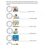 Daily Routines And Hours Worksheet   Free Esl Printable Worksheets | Daily Routines Printable Worksheets