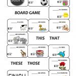 Demonstratives (This, That, These And Those) Worksheet   Free Esl | This That These Those Worksheets Printable