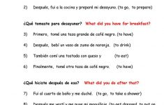 Dialy Routines. Translate From Spanish To English Worksheet – Free | Year 10 English Worksheets Printable