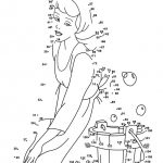 Dot To Dot Printables Princess | Coloring Pages For Kids | Dot To | The Printable Princess Worksheets
