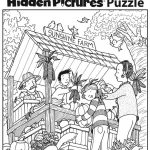 Download This Festive Fall Free Printable Hidden Pictures Puzzle To | Printable Hide And Seek Worksheets