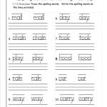 √ Printable Writing Worksheets For First Grade – Free Printable | Free Printable Language Worksheets