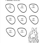 Easter Worksheets And Printouts   Free Printable Easter Worksheets | Free Printable Easter Worksheets For 3Rd Grade