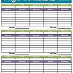 Easy Printable Budget Worksheet   Get Paid Weekly And Charlie Gets   Easy Budget Planner Free Printable Worksheets