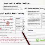 Editing And Proofreading Worksheets Rates On Standard Marks | Proofreading Worksheets Middle School Printable