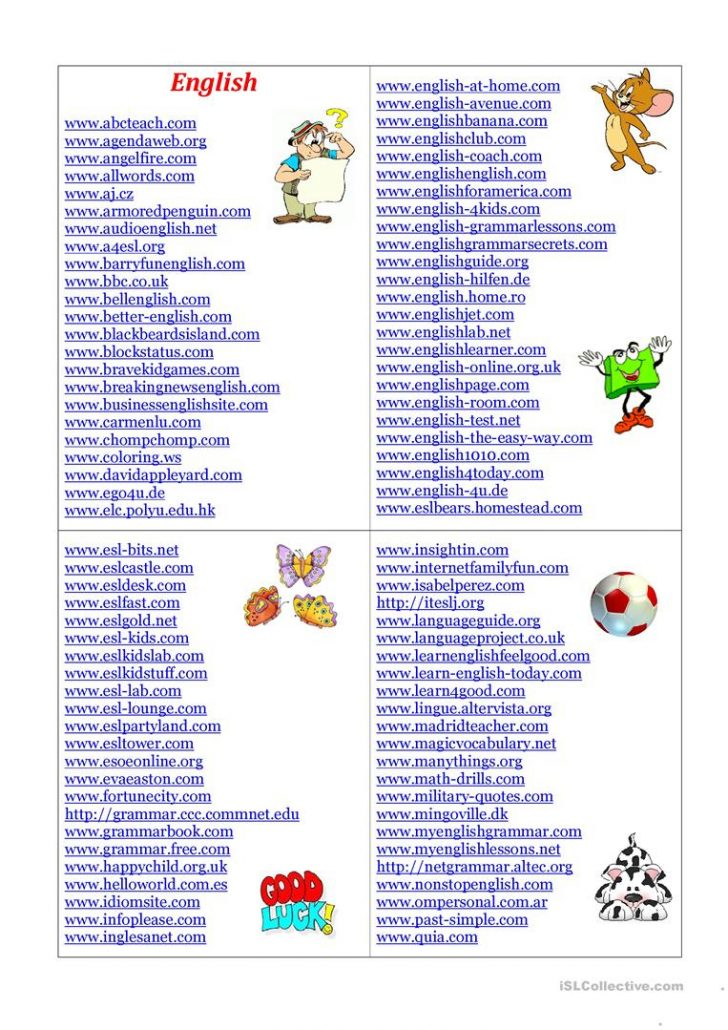 Teacher Websites Free Printable Worksheets