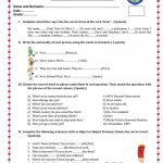 English Test Worksheet   Free Esl Printable Worksheets Madeteachers | English Test Printable Worksheets