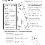 English Worksheet   Free Kindergarten English Worksheet For Kids | English Worksheets Free Printables