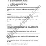 English Worksheets: Freak The Mighty Creative Worksheet | Freak The Mighty Printable Worksheets