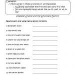 Englishlinx | Capitalization Worksheets | Printable Capitalization Worksheets 4Th Grade