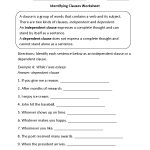Englishlinx | Clauses Worksheets | 9Th Grade English Worksheets Free Printable