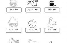 Free Phonics Worksheets Printable