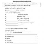Englishlinx | Subject And Predicate Worksheets   9Th Grade English | 9Th Grade English Worksheets Free Printable