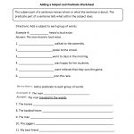 Englishlinx | Subject And Predicate Worksheets   9Th Grade English | 9Th Grade English Worksheets Printable Free
