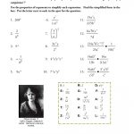 Ex 8: Zero And Negative Exponents   Mathops | Negative Exponents Worksheets Printable