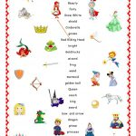 Fairy Tales.matching. Worksheet   Free Esl Printable Worksheets Made | Fairy Tales Printable Worksheets