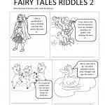 Fairy Tales Riddles 2 Worksheet   Free Esl Printable Worksheets Made | Fairy Tale Printable Worksheets