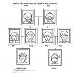 Family Tree Worksheet   Free Esl Printable Worksheets Madeteachers | Family Tree Worksheet Printable