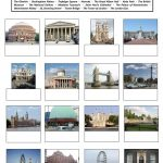 Famous Places In London Worksheet   Free Esl Printable Worksheets | London Worksheets Printable