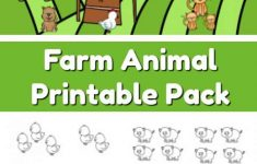 Farm Animal Addition And Subtraction Worksheets – The Moments At Home | Farm Animals Printable Worksheets