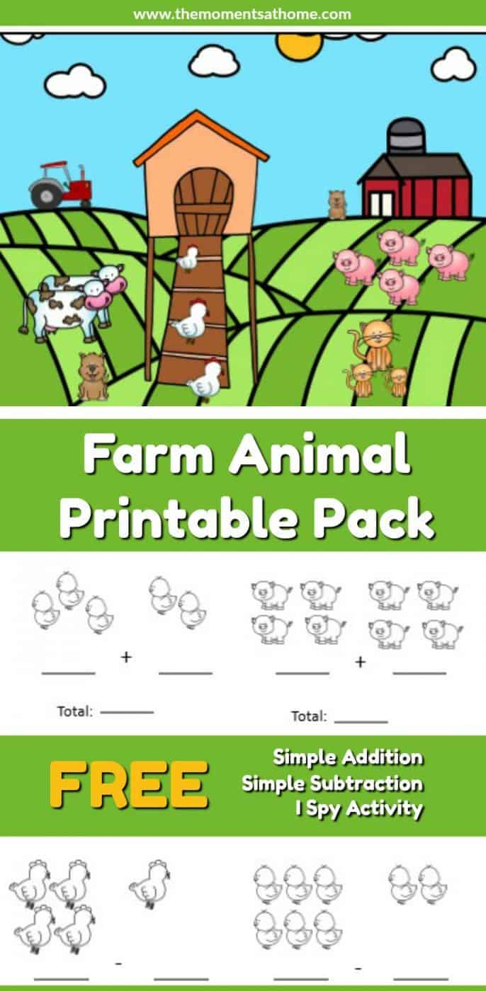 Farm Animals Printable Worksheets