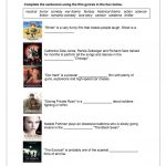 Film Genres Worksheet   Free Esl Printable Worksheets Madeteachers | Wwii Printable Worksheets