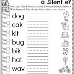 First Grade Summer Worksheets | Teachers Pay Teachers   My Store | Silent E Printable Worksheets