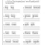 First Grade Writing Worksheets Free Printable – Worksheet Template | Free Printable 1St Grade Handwriting Worksheets