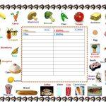 Foods I Like & Dislike Worksheet   Free Esl Printable Worksheets | Likes And Dislikes Worksheets Printable