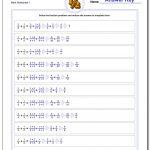Fraction Addition | Free Printable 4Th Grade Math Fraction Worksheets