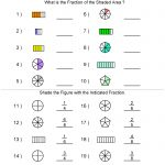 Fractions Worksheets | Printable Fractions Worksheets For Teachers | Free Printable First Grade Fraction Worksheets