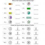 Fractions Worksheets | Printable Fractions Worksheets For Teachers | Math Worksheets Generator Free Printables