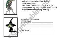 Fairy Tales Printable Worksheets