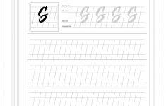 Calligraphy Worksheets Printable